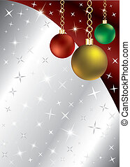 Sparkling Ornament Background