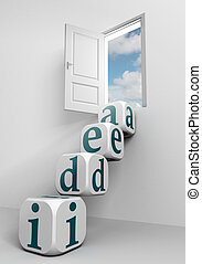 idea conceptual door