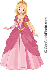 Beautiful princess - Illustration of  beautiful  princess