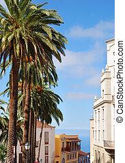 Street scene, La Orotava - A street scene in La Orotava,...