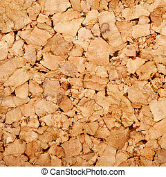 Corkboard background texture.Square shape