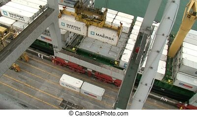 View from the gantry crane - a view from the gantry crane...