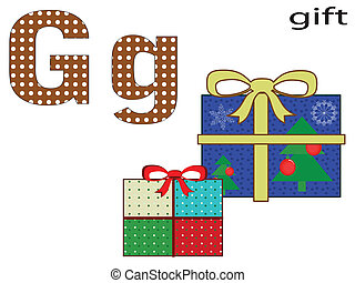 Children  alphabet ,G