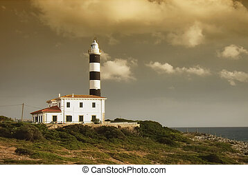 Lighthouse in Majorca - Porto Colom Lighthouse in Majorca...