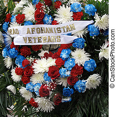 Iraq Aghanistan Veterans Wreath - Memorial Wreath for Iraq...