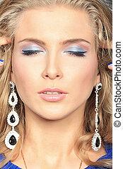 closeup makeup