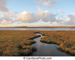 Crooked Inlet - Crooked inlet in Bolsa Chica Ecological...