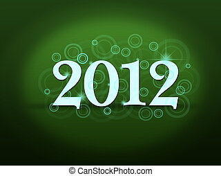 New Years card 2012