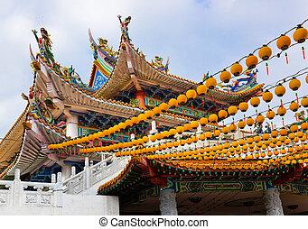 Kuala, malasia,  hou,  thean, templo,  lumpur