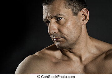 middle aged man - An image of a nice middle aged man