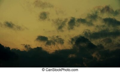 clouds cover sky