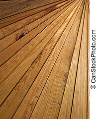 Wooden slats.Background. - Wooden slats made Background.