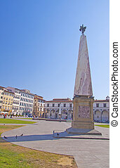 Obelisk - Close up of an obelisk in a square of Florence
