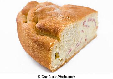 Ricotta cheese calzone