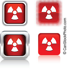 Radiation  icons.