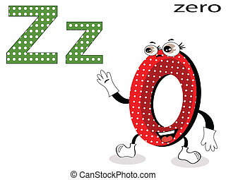 Children  alphabet ,Z
