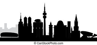 munchen skyline