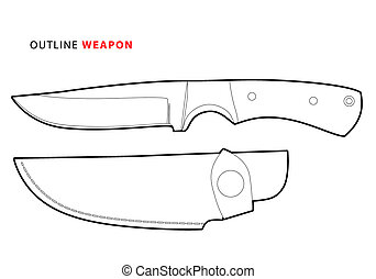 outline knife