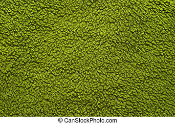 fleece texture - green fleece texture closeup background