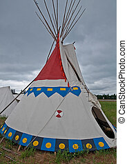 Native American Indian TeePee - This is a traditional Native...