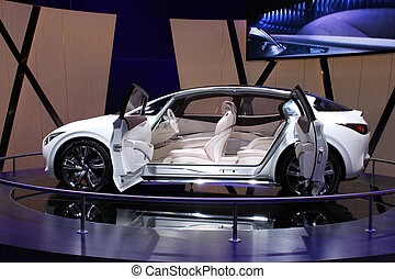 Suicide doors - Concept car with suicide doors