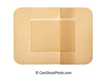 bandage - Medical bandage isolated on white background