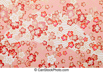 Japanese pattern - Seamless pattern displaying japanese...