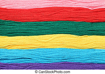 colorful threads background