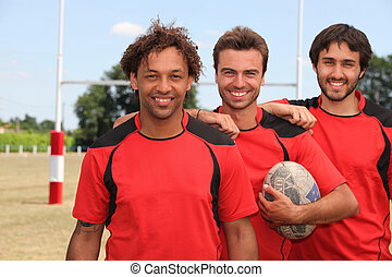 mates at rugby