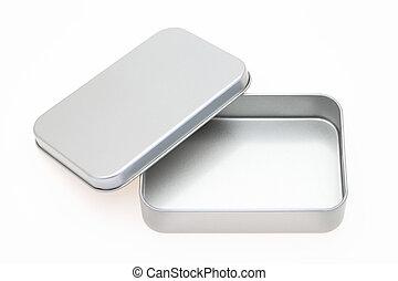 metal, caja