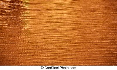 Water surface,Dusk,sunset,sunrise,golden.