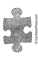 Puzzle Fingerprint