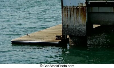Terminals and water surface,Pier,boardwalk,Dam,floating,rust...