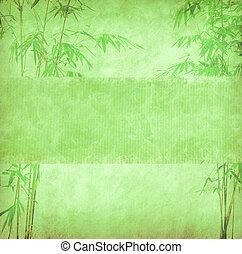 中国語, ハンドメイド, 木, ペーパー, デザイン, 手ざわり, 竹