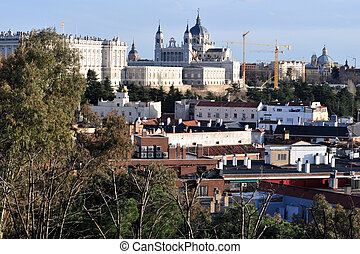 View of Madrid City, Spain