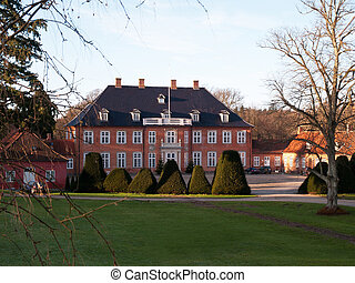 Big beautiful mansion house estate Denmark - Big beautiful...