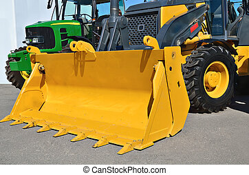 Loader a tractor