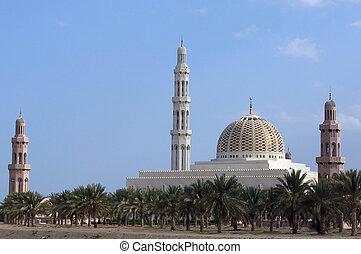 Sultan Qaboos Mosque Oman - Muscat, Oman, Sultan Qaboos...