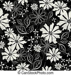 Effortless floral pattern