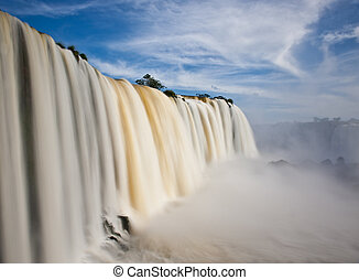 Iguazu falls, one of the new seven wonders of nature UNESCO...