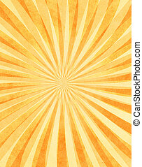 Layered Sunbeams on Paper - A layered sunbeam pattern on...