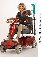Disabled older women