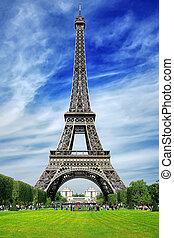 Eiffel tower in Paris