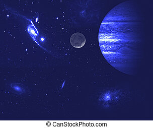 Planetarium. - Universe.