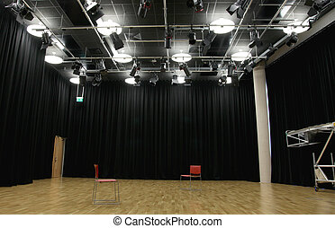 Actor's rehearsal studio