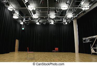 Actor's rehearsal studio