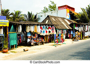 Mexican Marketplace - Colorful Mexican marketplace...