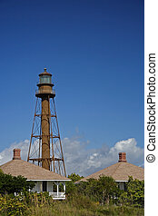 Sanibel Island Lighthouse in Sunny South Florida