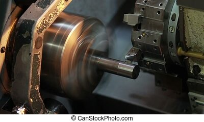 lathe factory - production of lathe in a factory