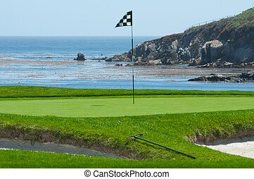 Golf Course on the Ocean